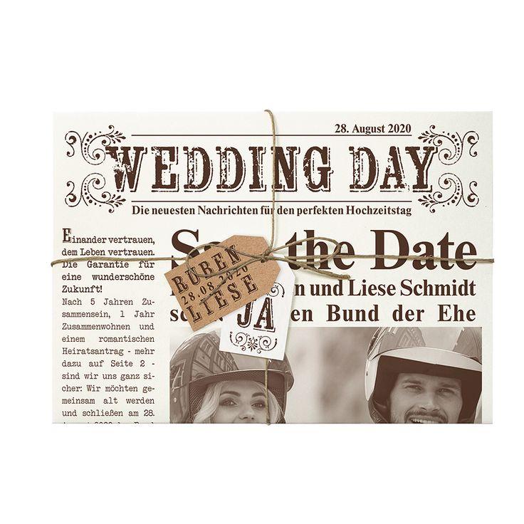 Hochzeitszeitung Texte Ideen: Die Besten 25+ Originelle Einladungen Ideen Auf Pinterest
