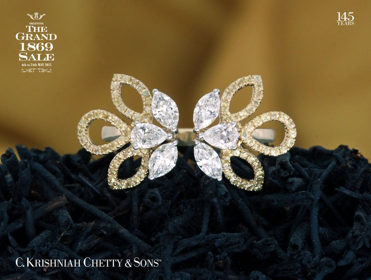 Dear List of Stars member, The Grand 1869 Sale is only till Sunday 31st May 2015. This is exclusively for List of Stars members only. Get 9% OFF on this Diamond ring.For further inquiries please refer to this code: 0007844133.