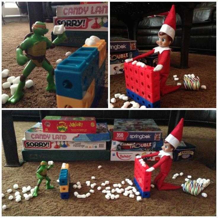 "Elf on the shelf ""Elfman"""