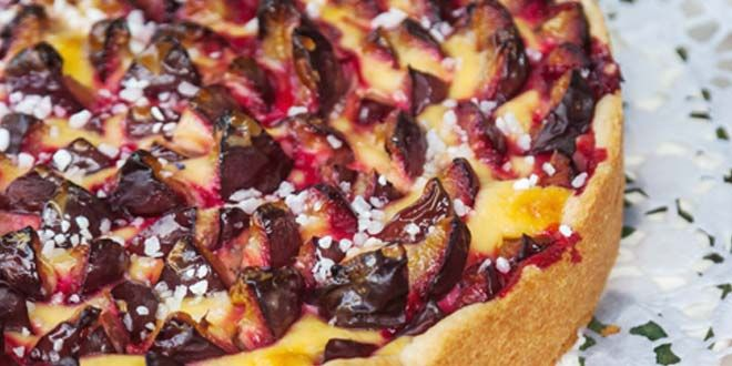 Pflaumenkuchen, sometimes known as Zwetschgendatschior is a wildly popular plum cake dessert in Germany. The yeasted dough bakes into somethingreminiscent of shortcake. The plums imparttart and ...