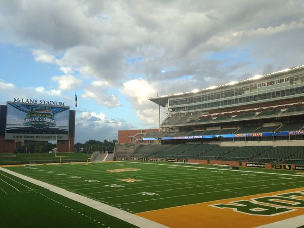 A beautiful morning at #Baylor's McLane StadiumBaylor Football, Beautiful Baylor, Baylor Mclane, Baylor Universe, Baylor Bears, Baylor Campus