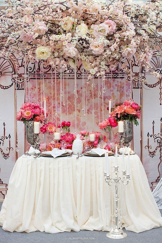 [tps_header]You can't think about your reception or ceremony décor without thinking about flowers. The following wedding flower details just might leave you weak in the knees. That's because from floor to ...