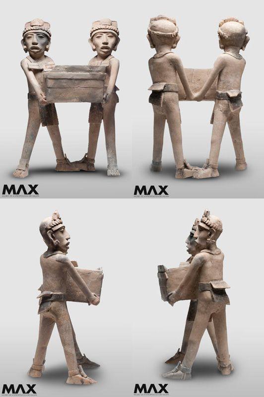Gemelos. Clásico tardío 600-900 d.C. Centro de Veracruz, México. Museo de Antropología de Xalapa   Arte Prehispánico