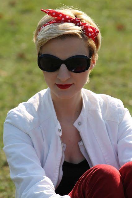 Twoja Akademia Piękna: Casual look - kontrasty - black red white