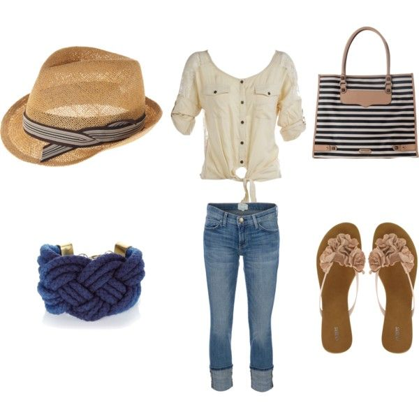 beach clothes, created by glittersyd on Polyvore