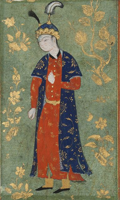 Style Qazwin | شاهزاده ایستاده, ۱۵۶۰ ترسایی، قزوین، ۱۰ در ۶.… | Flickr