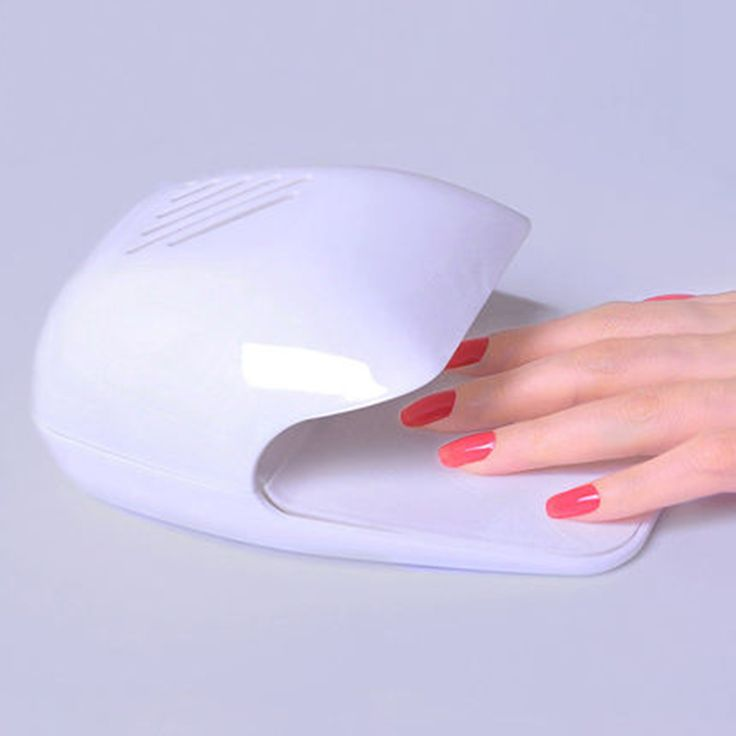 new high quality White Nail Dryer Portable Drying for Nail Polish Manicure Paints Professional  M01565