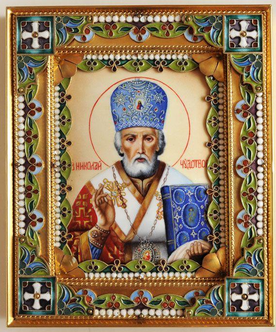 Святой Николай Чудотворец купить, икона николая угодника, икона святого Николая…
