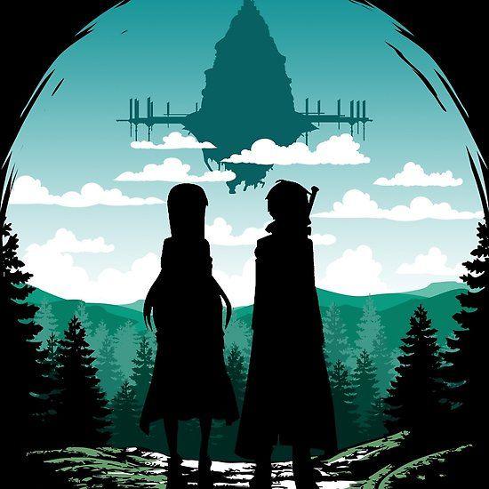 SAO Aincrad | SAO | Casal anime, Sword art online e Animes
