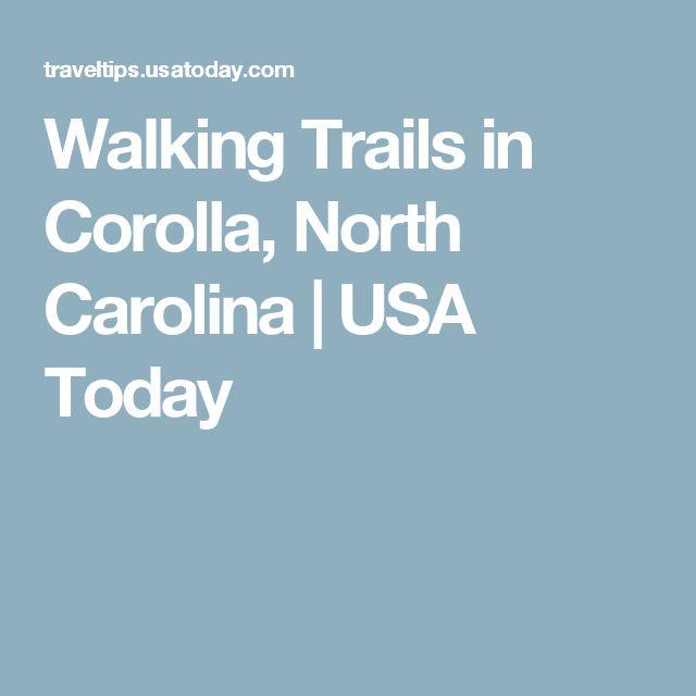 Walking Trails in Corolla, North Carolina | USA Today