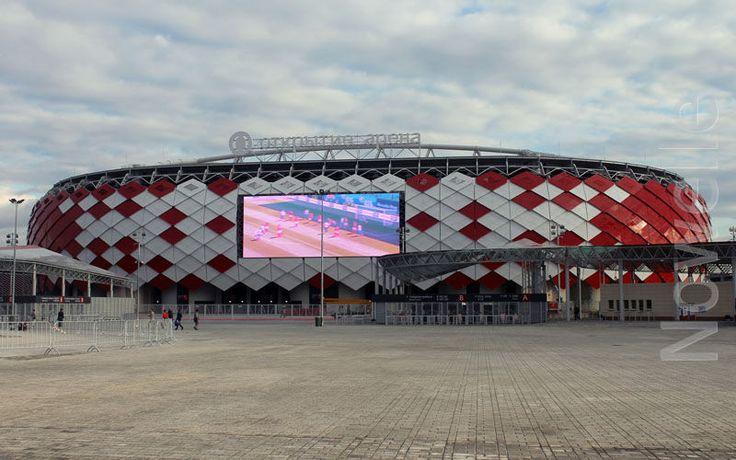#Otkritie-arena - football stadium when #Nowelle works now
