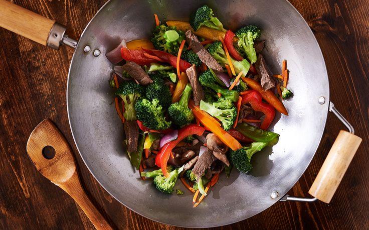 Cómo preparar un Wok de ternera con setas y verduras | Demos la vuelta al día