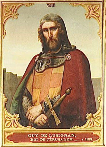 Guy of Lusignan (c. 1150 – 18 July 1194) was a Poitevin knight, son of Hugh VIII of the Lusignan dynasty. He was king of the crusader state of Jerusalem from 1186 to 1192 by right of marriage to Sibylla of Jerusalem, and of Cyprus from 1192 to 1194. This Day in History: Apr 08, 1271: In Syria, sultan Baybars conquers the Krak of Chevaliers. http://www.shopcost.co.uk/