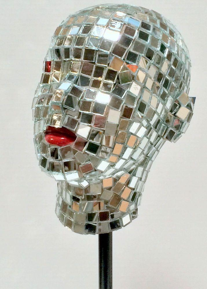 Vintage, Retro Adel Rootstein Mirror Covered Mannequin ...