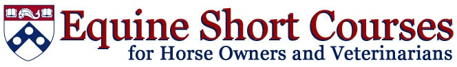 U Penn offering short courses for 2013 - Just Stallion Handling    March 14 & 15, 2013      Horse Behavior                 May 13 & 14, 2013      Breeding Management of the Mare       **To Be Announced**           Managing the Pregnant Mare & her Foal     ***To Be Announced***      Is It Physical, Psychological or Both?      **To Be Announced**
