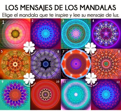 """Hablando de Conciencia: """"Mensaje de los Mandalas""""."""