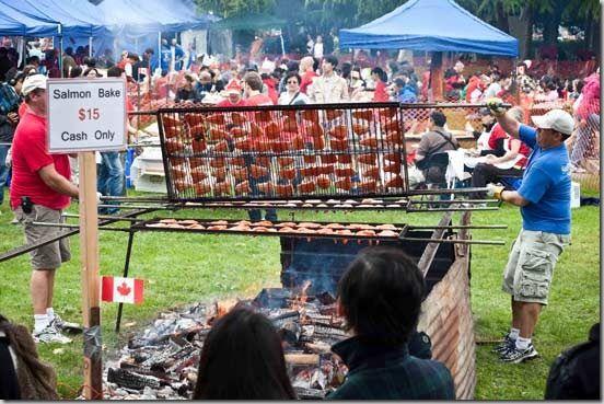 #Steveston Salmon Festival for #CanadaDay in #RichmondBC