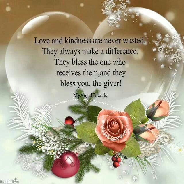 Love and loving kindness works