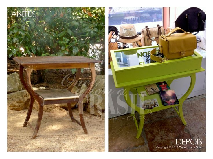 MESA AMORA * Before & After * By Once Upon a Trash