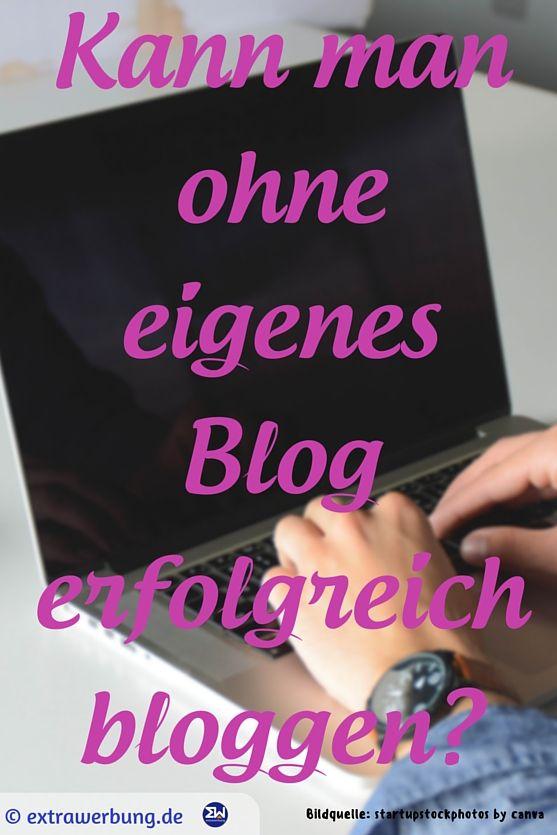 Kann man ohne eigenes #Blog erfolgreich bloggen?