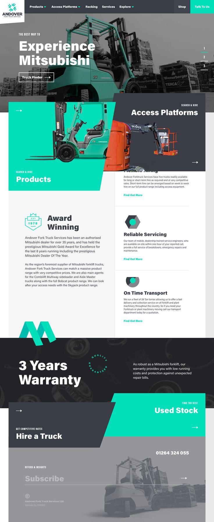 32 best web design images on pinterest design web design websites brand development traditional print work and bespoke wordpress website design and build for andover forktruck services fandeluxe Gallery
