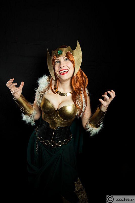 Sigyn (Loki's Wife) #Marvel #Cosplay at Katsucon 2014