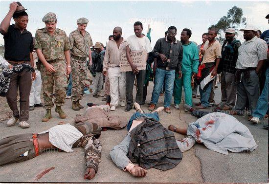 Bisho massacre, 1992.