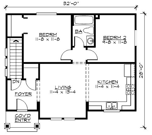 72 best small homes and apartments images on pinterest for Best drive under house plans