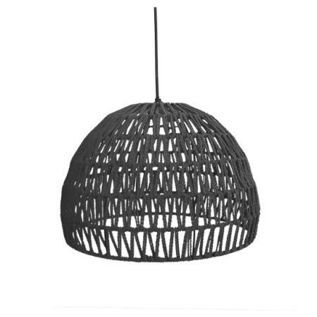 Hanglamp Touw Groot Zwart Label 51