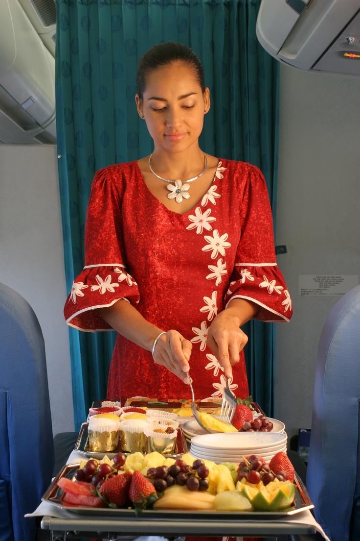 Air Tahiti Nui : Desert anyone ?