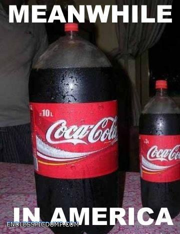 Meanwhile In America Coca Cola
