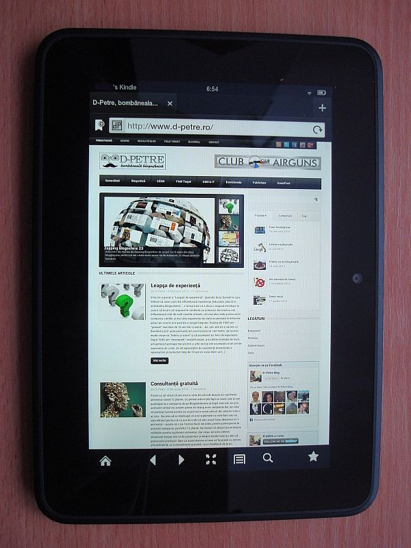 Kindle Fire HD – Review de utilizator