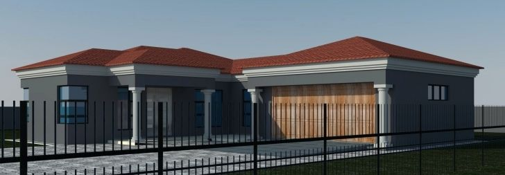 Exquisite Fresh Four Bedroom House Plans In South Africa