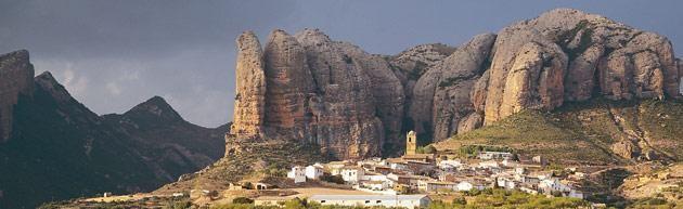 Vista de Agüero. Huesca