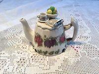 Portmeirion Paul Cardew Pomona Tea Table One Cup Teapot Botanic Garden Collectab