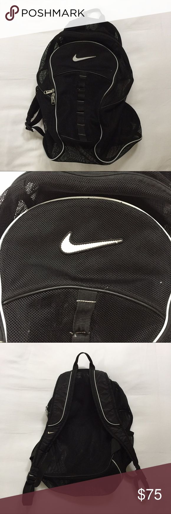 🐚 Nike mesh backpack 🐚 Nike mesh backpack • gently used • in great shape Nike Bags Backpacks