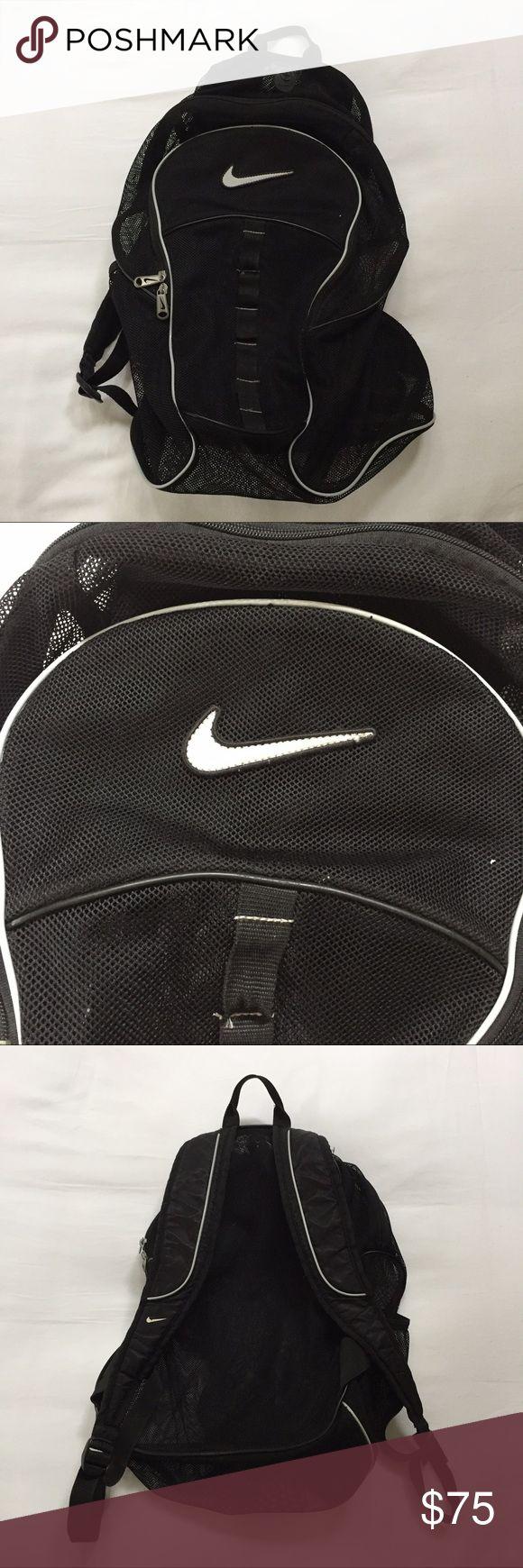 🐚 Nike mesh backpack 🐚 Nike mesh backpack • gently used • in great shape Nike Bags Backpacks