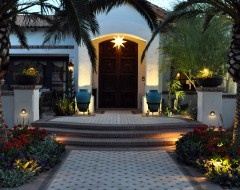 Outdoor tiles create such beauty...