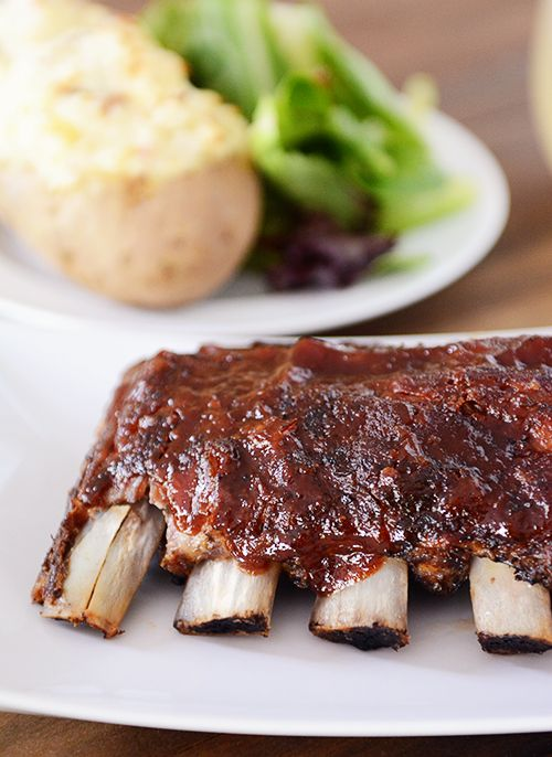 Slow Cooker Baby Back Ribs | Mel's Kitchen Cafe