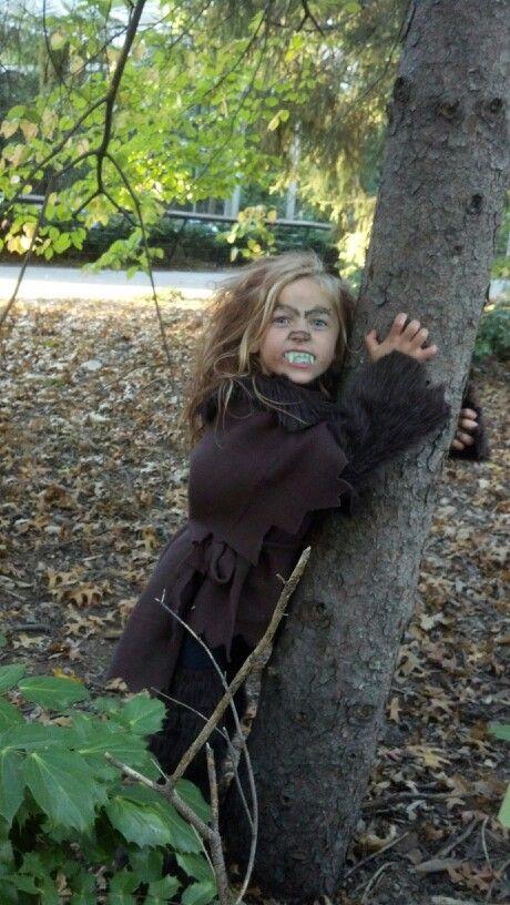 Werewolf Girl costume homemade