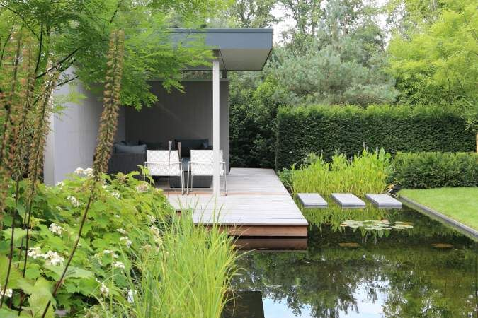 654 best jardin images on pinterest landscape design landscaping and contemporary gardens - Outs allee tuin ...