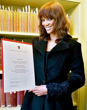 PIC: Tyra Banks Graduates From Harvard Business School!