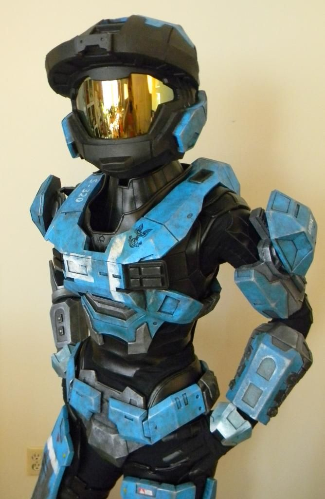 KAT Armor Build - Imgur - album goes through her entire build process, it's pretty awesome.