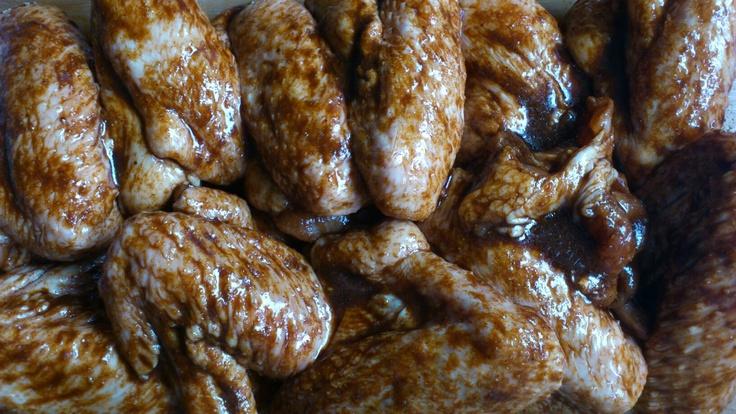 Chicken wing bbq marinade.