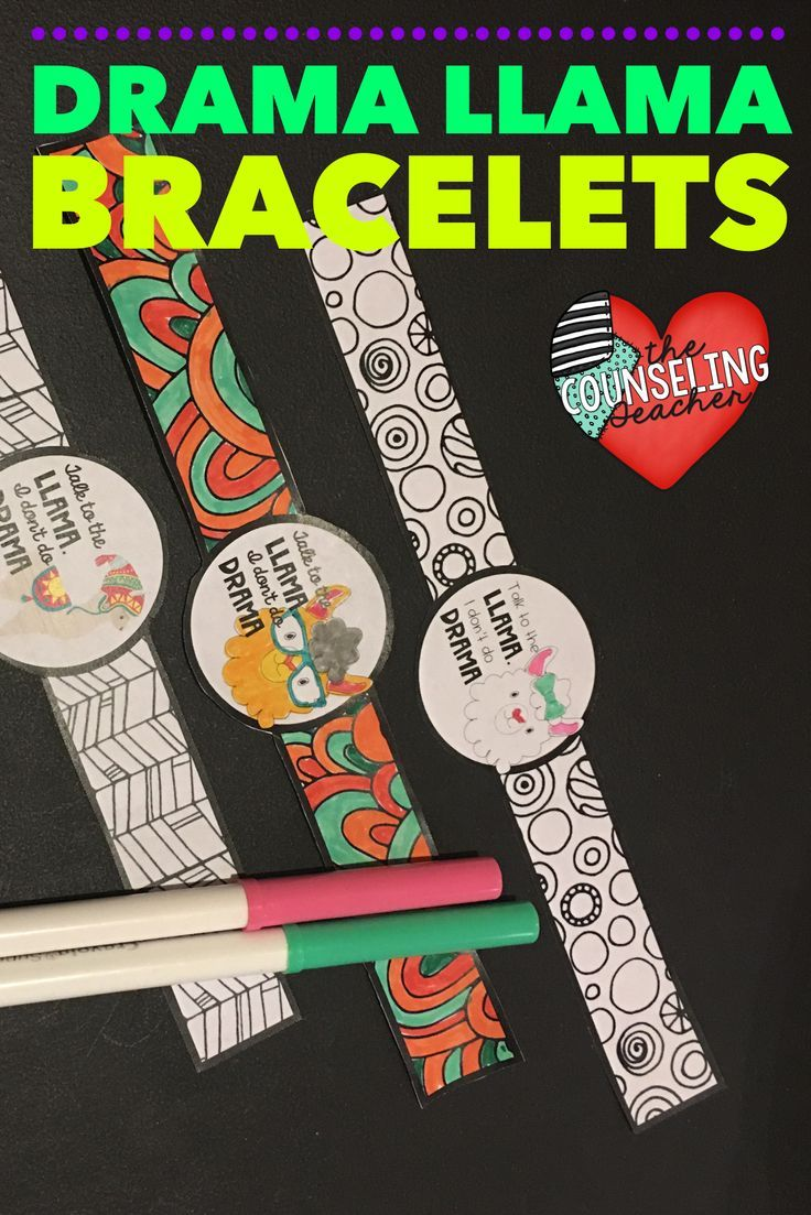 Conflict resolution craft for school Counselors, teachers, speech pathologists, and other specialists. Upper elementary and middle school girls will love these for a small group or lunch bunch activity.