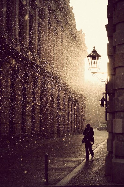 Let the rain purify you