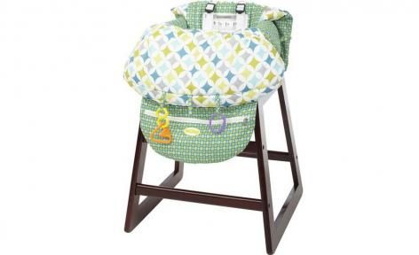 Triangles Shopping Cart n High Chair Cover by Nuby Travel | Shop Online
