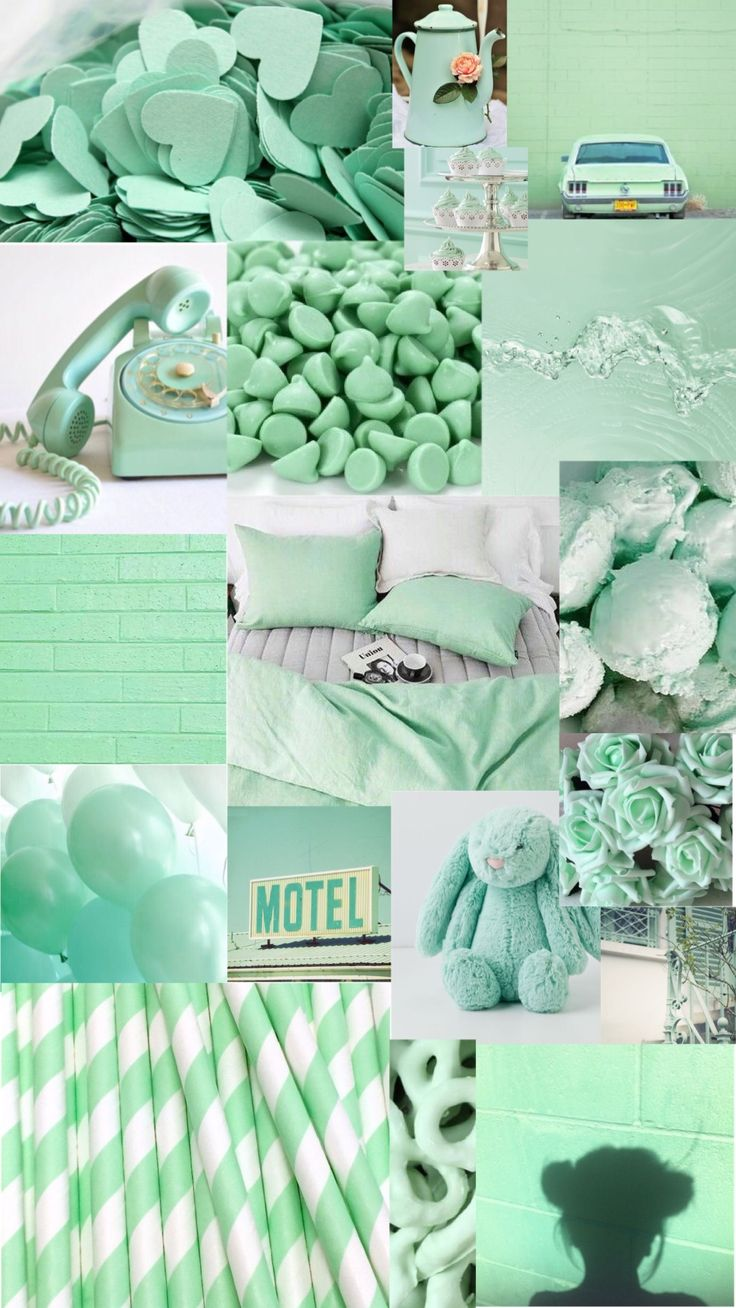 Light Green Aesthetic Wallpaper
