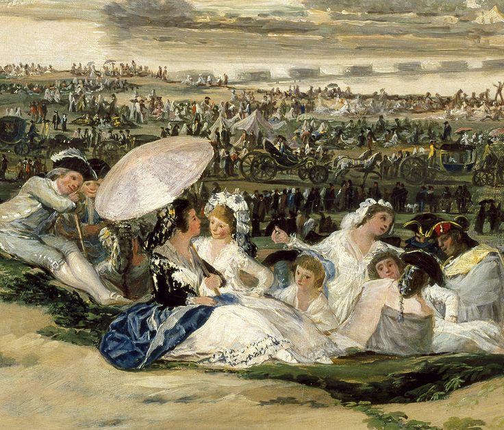 """Francisco de Goya: """"La pradera de san Isidro"""""""