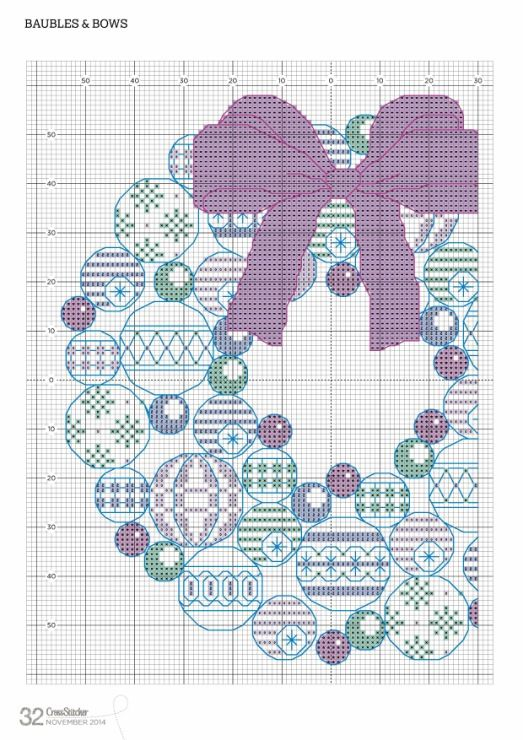 Gallery.ru / Фото #48 - Cross Stitcher 285-2014 - Lydie (1 of 2)